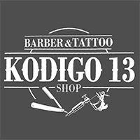 kodigo13-barberia-logo